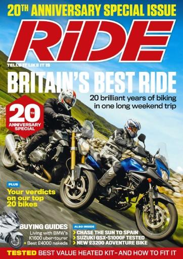 Ride issue December 2015