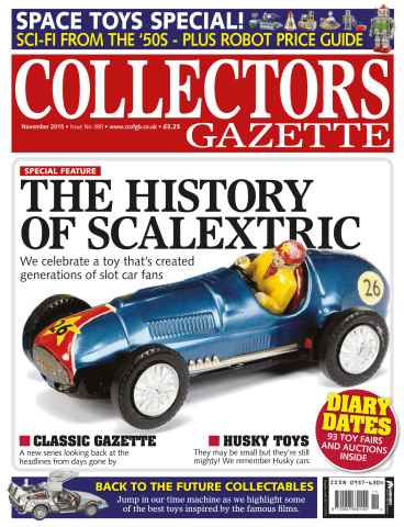 Collectors Gazette issue November 2015