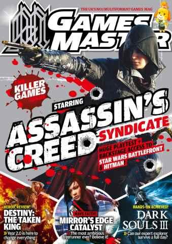 GamesMaster issue November 2015