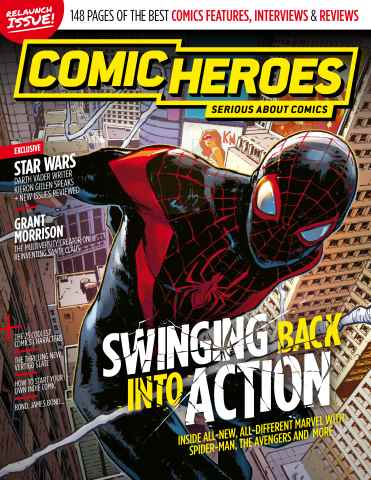 Comic Heroes issue Issue 25