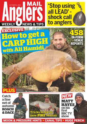 Anglers Mail issue 6th October 2015