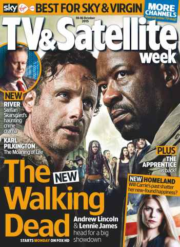 TV & Satellite Week issue 10th October 2015