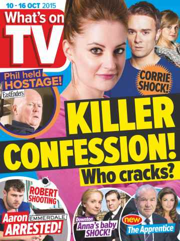 What's on TV issue 10th October 2015