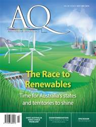 AQ: Australian Quarterly 86.4 issue AQ: Australian Quarterly 86.4