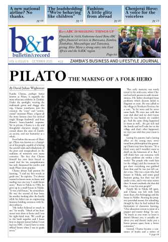 The Bulletin & Record issue October 2015