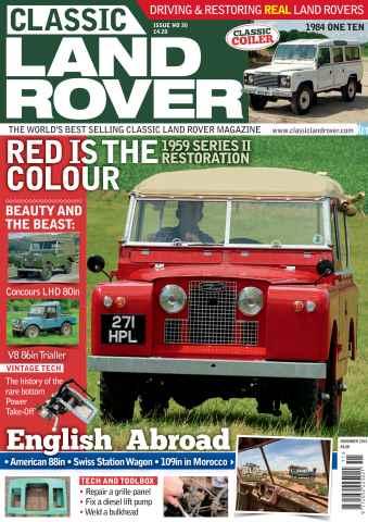 Classic Land Rover Magazine issue November 2015
