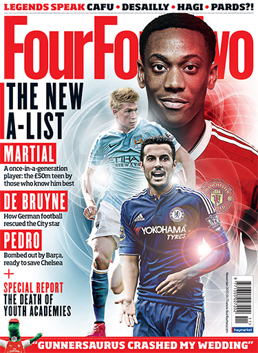 Four Four Two issue November 2015