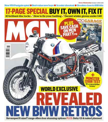 MCN issue 7th October 2015