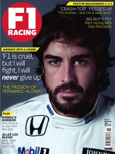F1 Racing issue November 2015