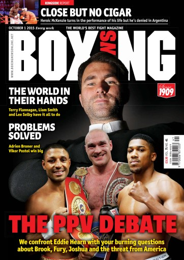 Boxing News UK issue 06/10/2015