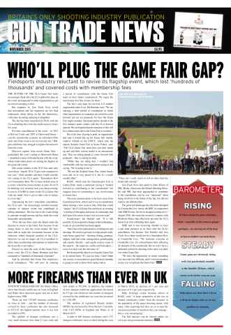 Gun Trade News issue GTN November 2015