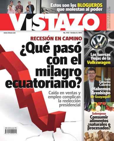 Revista Vistazo issue Vistazo 1155