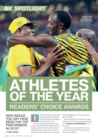 Athletics Weekly Preview 26