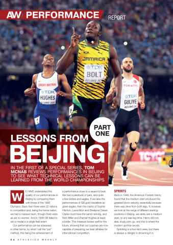 Athletics Weekly Preview 54