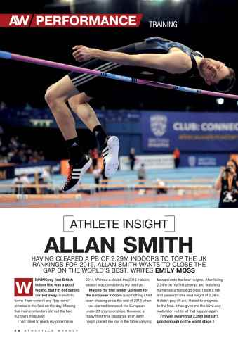 Athletics Weekly Preview 56