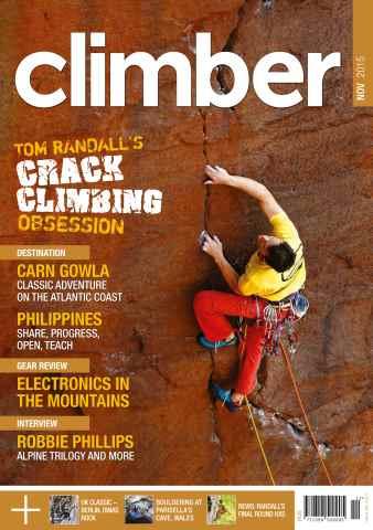 Climber issue November 2015