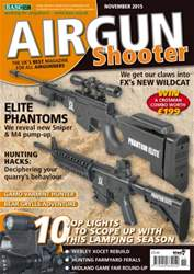 Airgun Shooter issue November 2015