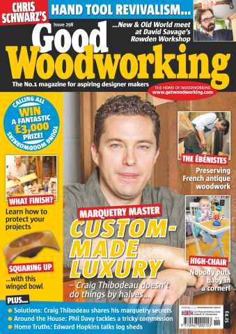 Good Woodworking issue November 2015