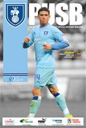 CCFC Official Programmes issue 06 V BLACKPOOL (11-12)