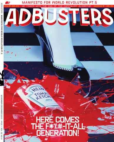 Adbusters issue Nov-Dec 2015