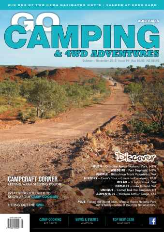Go Camping Australia issue Issue 99 (October-November 2015)