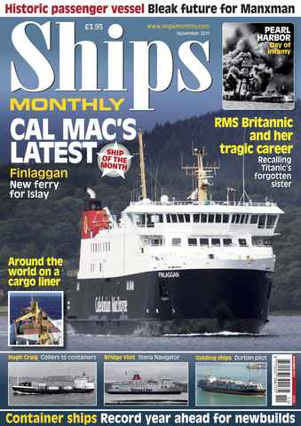 Ships Monthly issue November 2011
