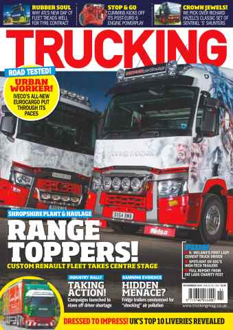 Trucking Magazine issue No. 501 Range Toppers!