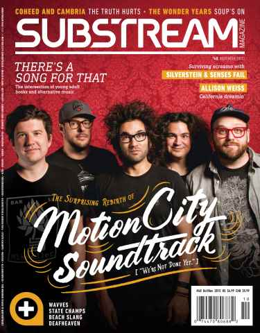 Substream Magazine issue Issue 48 Featuring Motion City Soundtrack