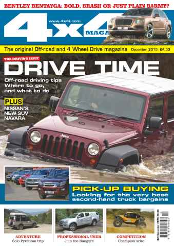 4x4 Magazine issue No. 381 Drive Time