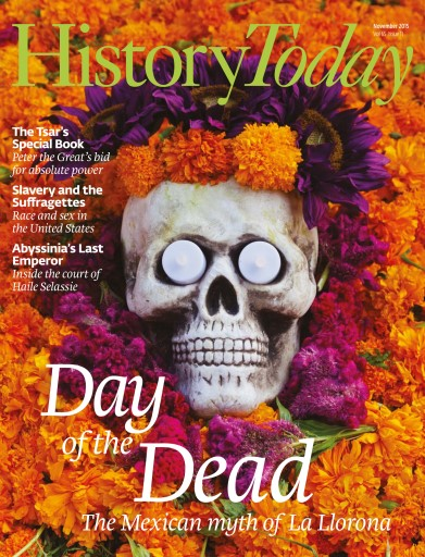 History Today issue November 2015