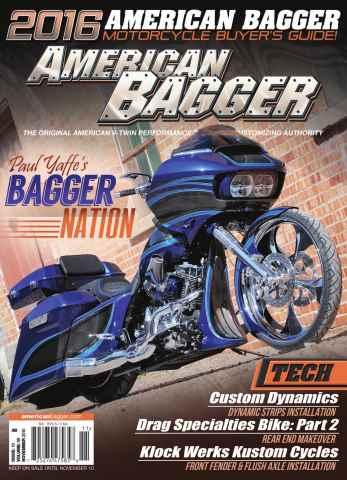 American Bagger issue November 2015