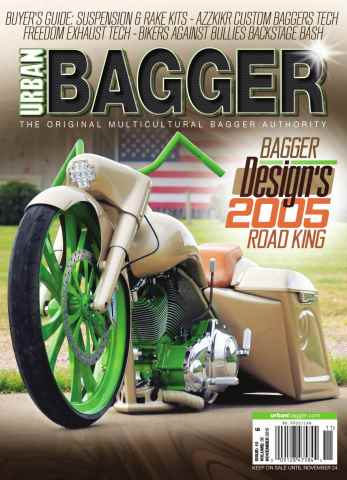 Urban Bagger issue November 2015