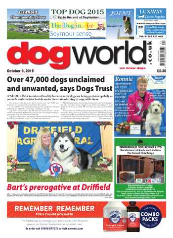 Dog World issue 09 October 2015