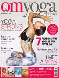 OM Yoga UK Magazine issue November 2015
