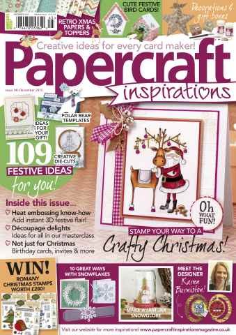 Papercraft Inspirations issue December 2015