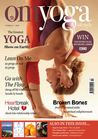 OM Yoga UK Magazine issue October 2011 - Issue 15