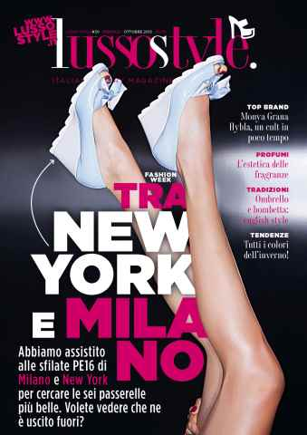 Lusso Style issue LUSSO&STYLE #30 OTTOBRE 2015