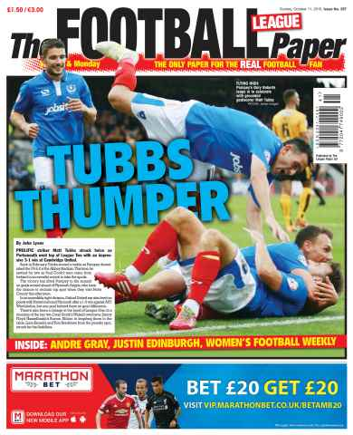 The Football League Paper issue 12th October 2015