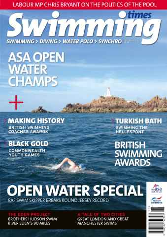 Swimming Times issue November 15