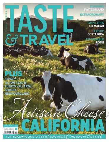 Taste & Travel International issue Fall 2015