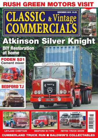 Classic & Vintage Commercials issue Vol.21 No. 3 Atkinson Silver Knight