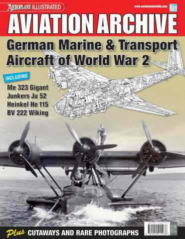 Aeroplane Collector's Archive issue German Marine & Transport Aircraft of WW2