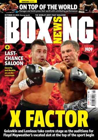 Boxing News International issue 13/10/2015