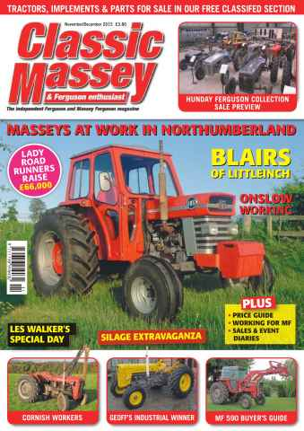 Classic Massey issue No. 59 Masseys at work in Northumberland