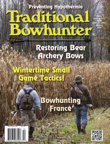 Traditional Bowhunter Magazine issue Dec/Jan 2016