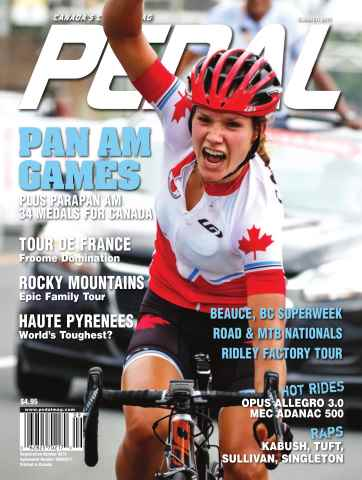 Pedal Magazine issue Pedal Summer 2015