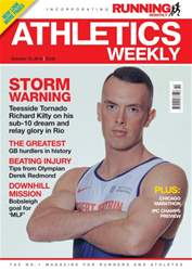 Athletics Weekly issue 15 October 2015
