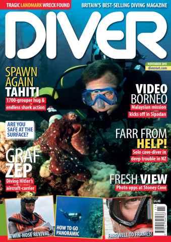 DIVER issue NOVEMBER 2015