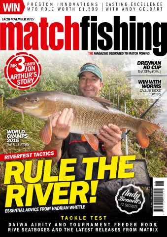 Match Fishing issue November 2015