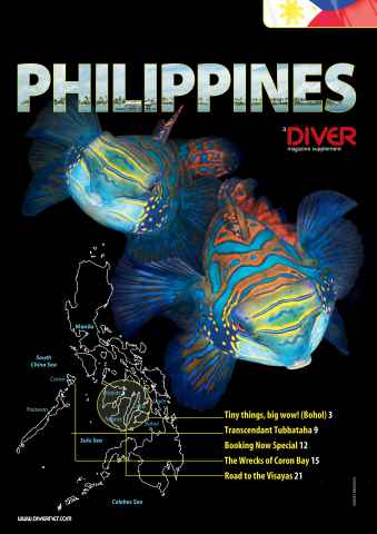 DIVER issue DIVER PHILIPPINES Supplement